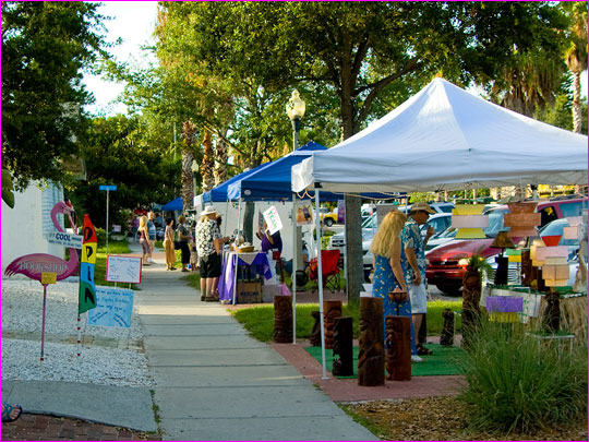 Art Walk in Gulfport, Florida