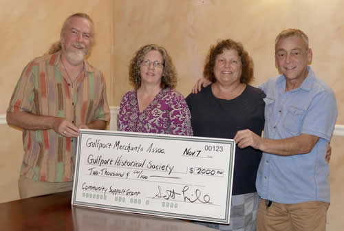 Check Presentation Gulfport Historical Society