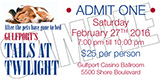 Tails at Twilight Tickets